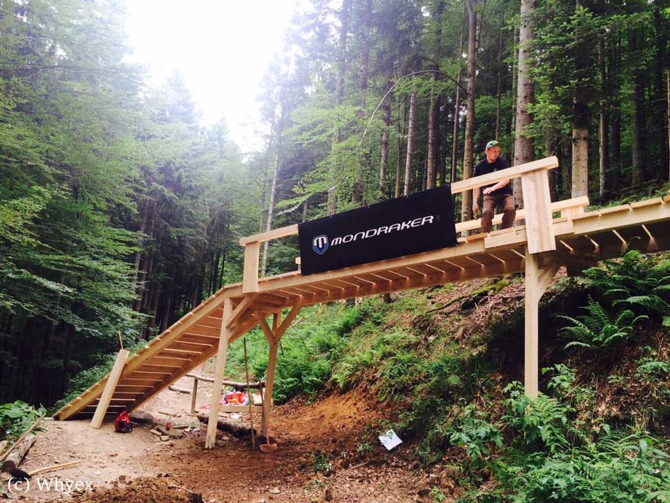 Bikepark-Todtnau-Northshore Element